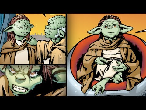 The Female Yoda and Why Her Death Devastated Anakin - Yaddle [Legends]