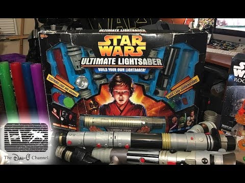 Star Wars Ultimate Lightsaber | Build your own lightsaber kit 2005 | The Dan-O Channel