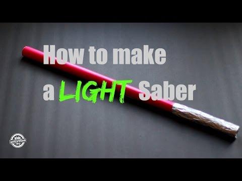 Light Saber Craft Tutorial