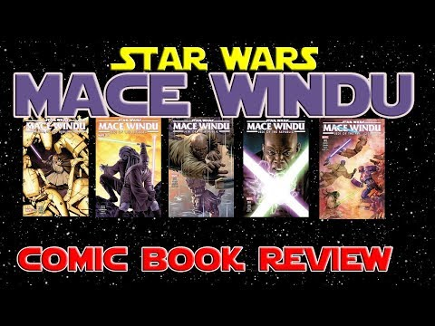 Star Wars: Jedi of the Republic Mace Windu Miniseries #1-5 - Comic Review
