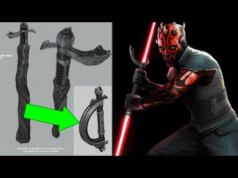 How Darth Maul REALLY Got His Final Lightsaber - Star Wars Explained