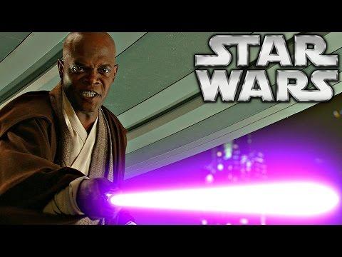 How Mace Windu Got His Purple Lightsaber - Star Wars Explained