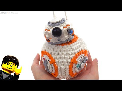 LEGO Star Wars BB-8 large scale model review! 75187