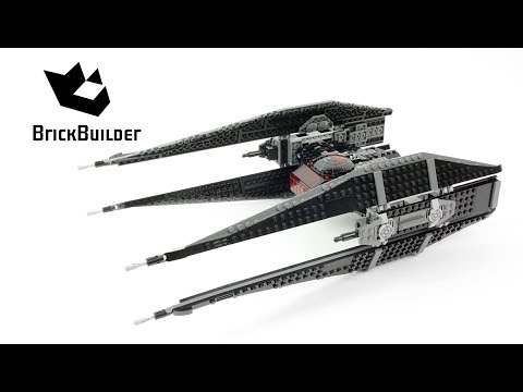 LEGO STAR WARS 75179 Kylo Ren TIE Fighter Speed Build for Collecrors Collection The Last Jedi (2/18)