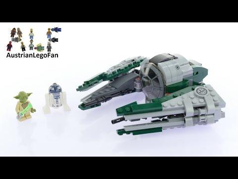 Lego Star Wars 75168 Yoda´s Jedi Starfighter™ - Lego Speed Build Review