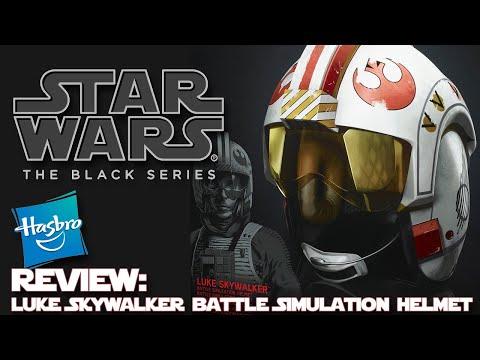 Star Wars: The Black Series Luke Skywalker Battle Simulation Helmet - Review