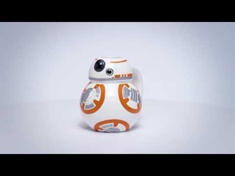 Zak Designs: Star Wars Sculpted Coffee Mug - BB-8