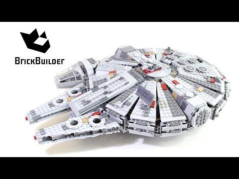 Lego Star Wars 75105 Millennium Falcon - Lego Speed Build