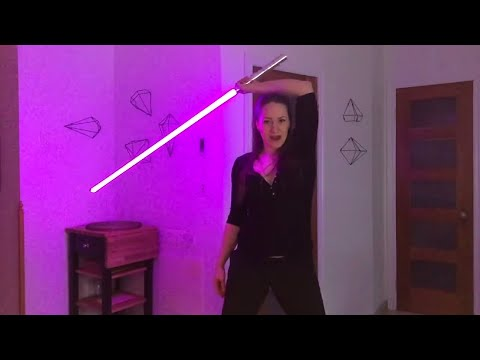 LIGHTSABER TUTORIAL - High/Low Whip + Head Catch [TRY THIS!]