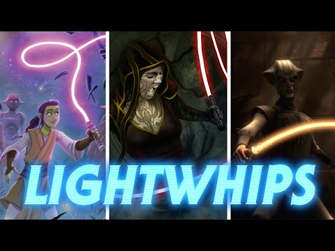 Lightwhips and Electro-Whips in Star Wars Canon and Legends