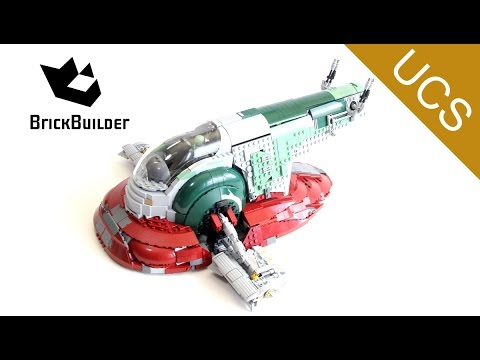 Lego Ultimate Collector Series 75060 Slave I - Lego Speed Build