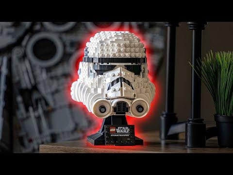 LEGO Star Wars Stormtrooper Helmet 2020 Set Review - 75276