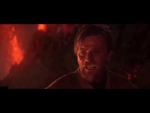 Anakin vs Obi Wan Kenobi (full fight)