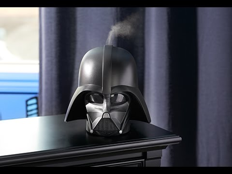 Unboxing of Star Wars Darth Vader Ultrasonic Humidifier