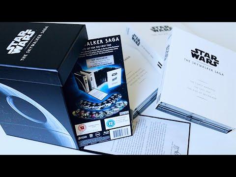 Star Wars: The Skywalker Saga Blu-ray Box Set (UK Release) - Unboxing + Review | Rick Adams