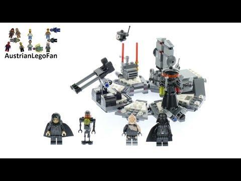 Lego Star Wars 75183 Darth Vader Transformation Speed Build