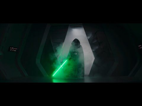 The Mandalorian | Luke's Hallway Scene with Vader's Hallway Scene Music | Spoilers for Chapter 16
