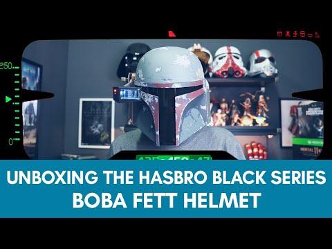 BOBA FETT HELMET | Hasbro Black Series - UNBOXING & REVIEW!