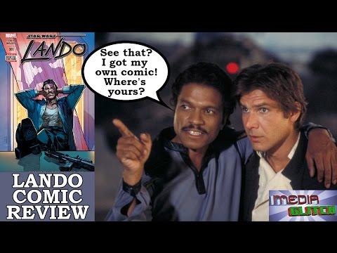 STAR WARS LANDO COMIC REVIEW