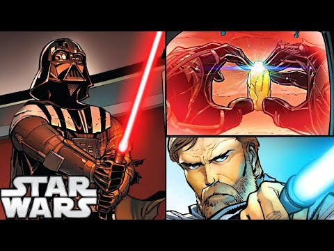 How Darth Vader Turned His Lightsaber RED (CANON) - Star Wars Explained