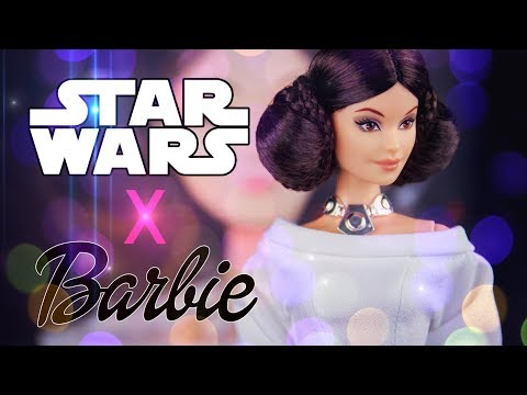 Star Wars X Barbie Princess Leia Inspired Doll