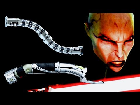 Why Do Some Jedi and Sith Use Curved-Hilt Lightsabers?