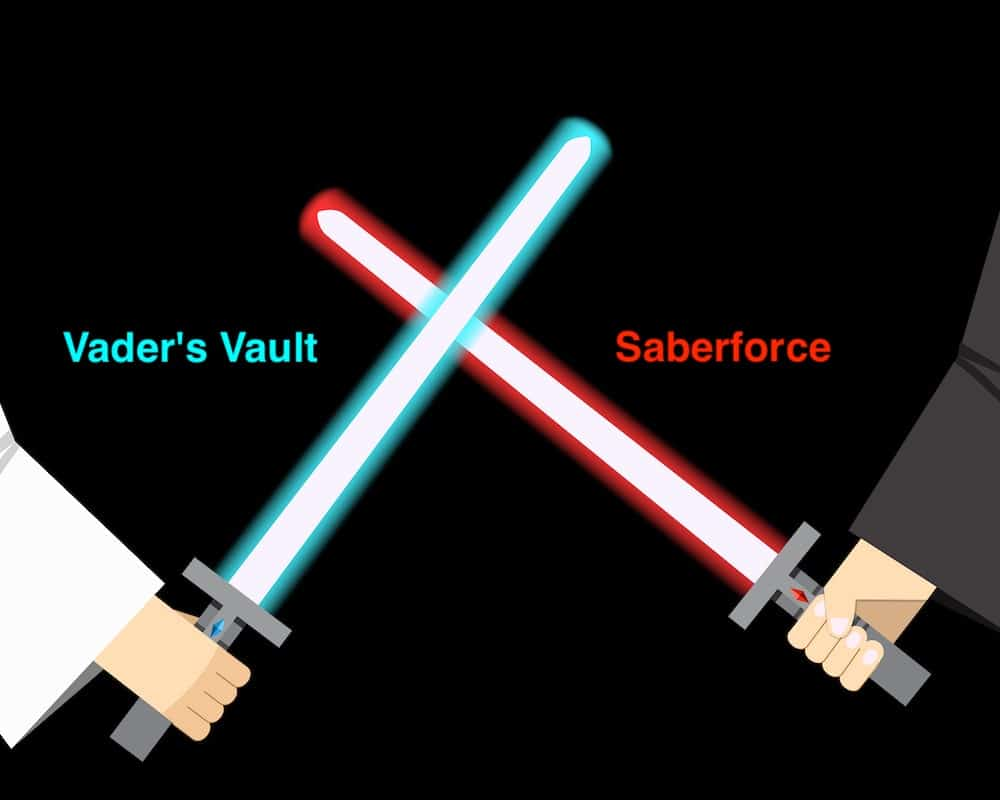 vaders vault vs saberforge