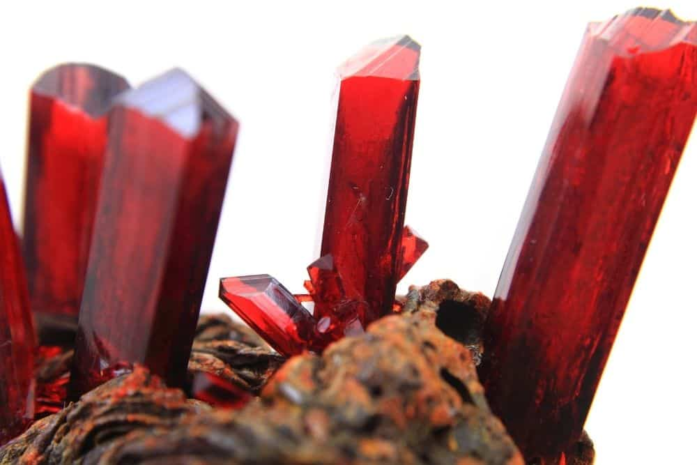 Red Kyber crystals